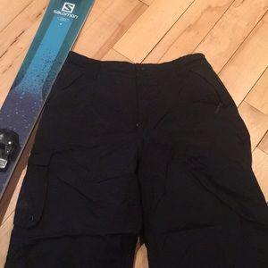 Nike Men's black size large snow pants